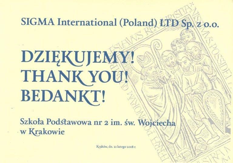 Szkoła Podstawowa nr 2 im. św. Wojciecha w Krakowie