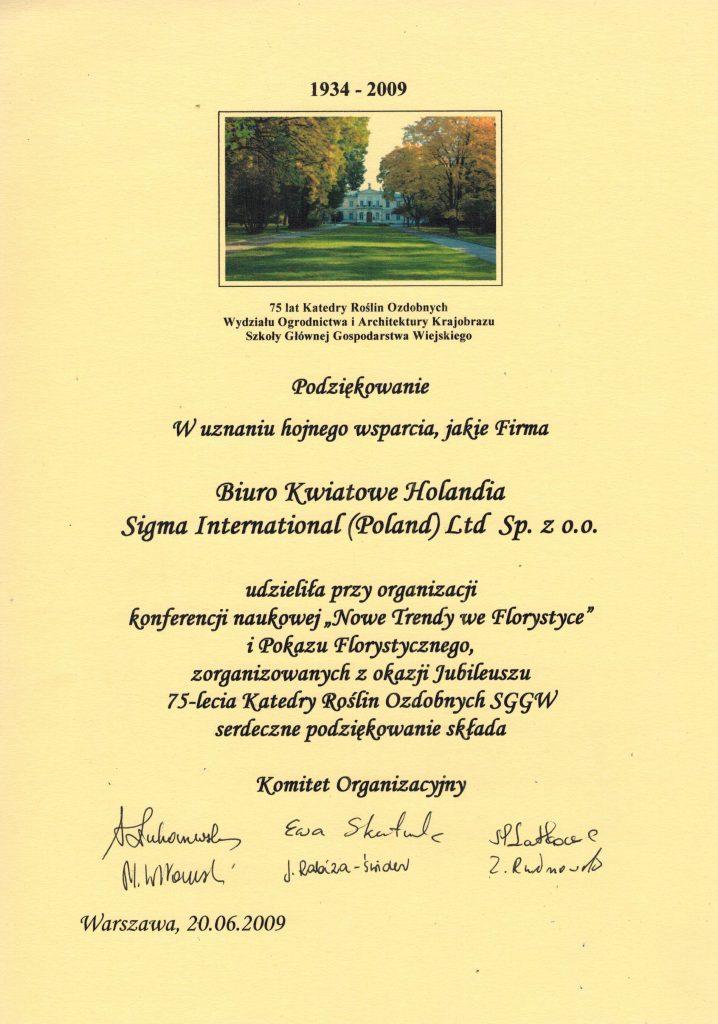 Katedra Roślin Ozdobnych SGGW